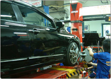 Our Services | Computerised Four Wheel Alignment