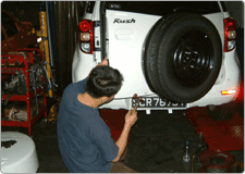 Our Services | Body Work | Spray Painting