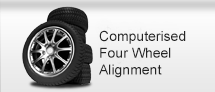 Computerised Four Wheel Alignment
